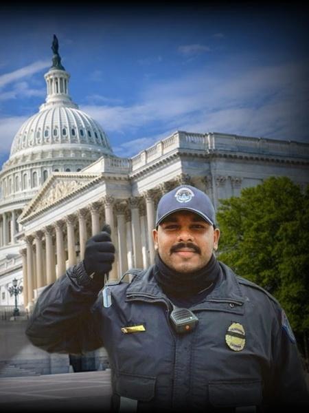 Capitol Police Officer Juan Lopez